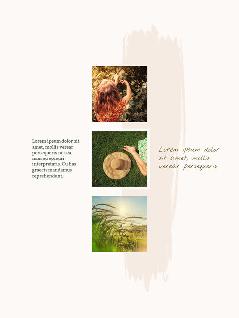우리의 봄 컨셉 세로형 프레젠테이션용 PowerPoint 템플릿_24