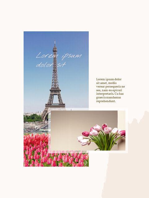 우리의 봄 컨셉 세로형 프레젠테이션용 PowerPoint 템플릿_05