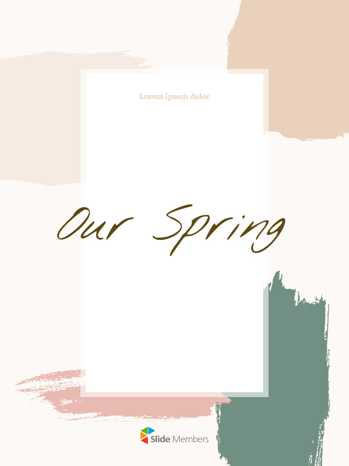Our Spring <span class=\'highlight\'>Concept</span> Vertical Simple Google Slides_01
