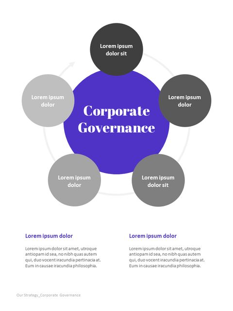 Purple Annual Report Google Slides Template Diagrams Design_02