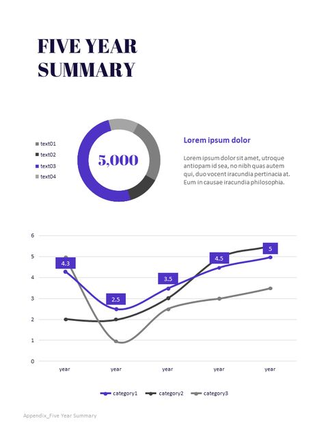 Purple Annual Report Marketing Presentation PPT_04