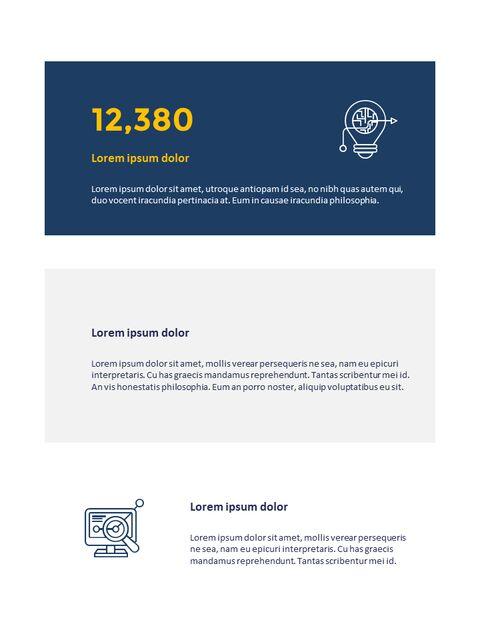 연례 보고서 클린 디자인 파워포인트 템플릿_06