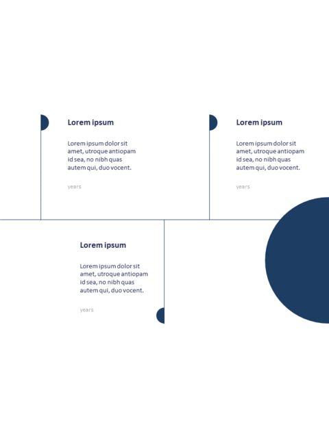 연례 보고서 클린 디자인 파워포인트 템플릿_08