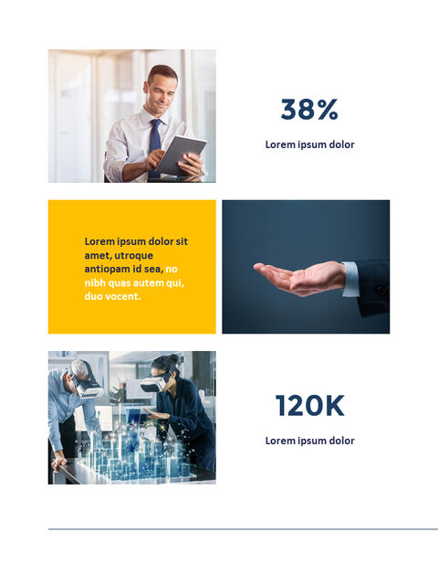 Annual Report Clean Design PowerPoint Templates_03