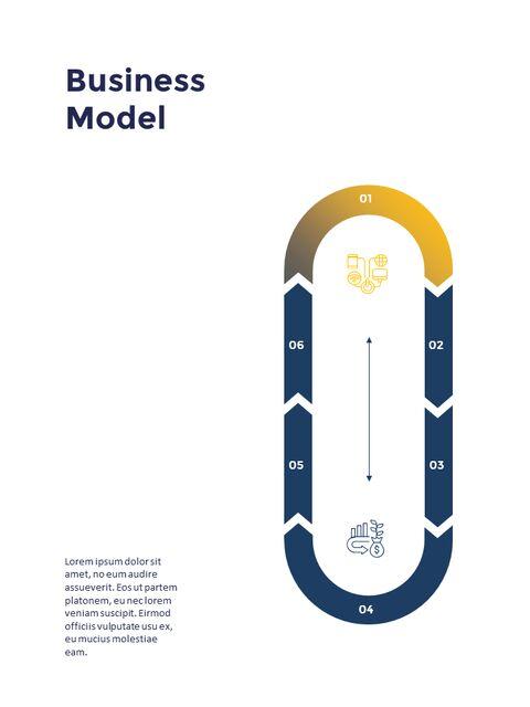연례 보고서 클린 디자인 파워포인트 템플릿_15