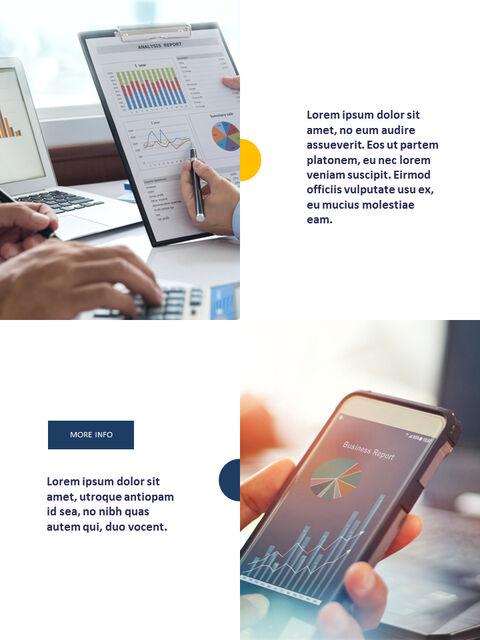 연례 보고서 클린 디자인 파워포인트 템플릿_17