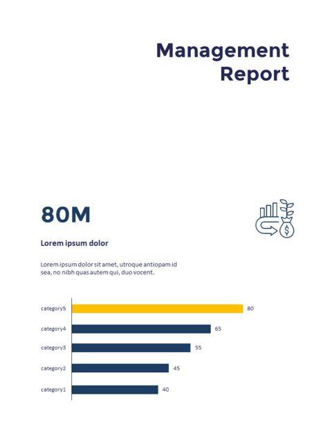 연례 보고서 클린 디자인 파워포인트 템플릿_18