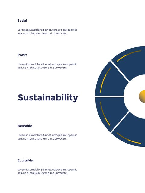 연례 보고서 클린 디자인 파워포인트 템플릿_19
