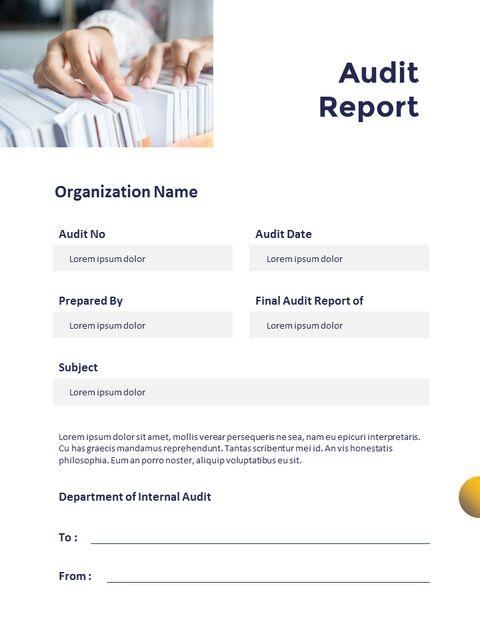 연례 보고서 클린 디자인 파워포인트 템플릿_23
