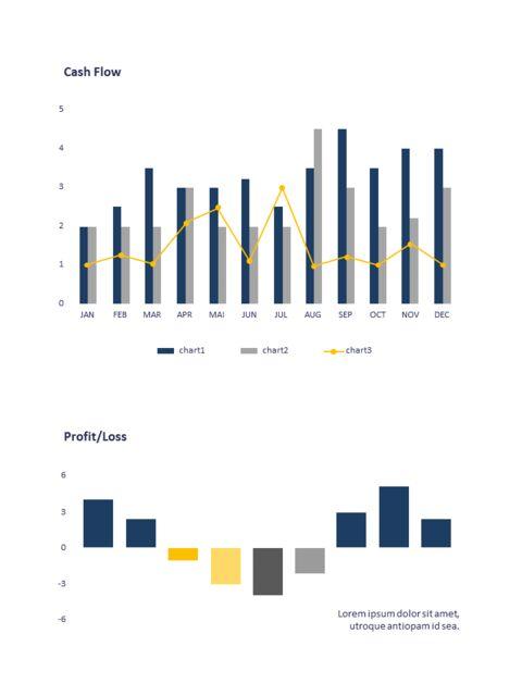 연례 보고서 클린 디자인 파워포인트 템플릿_27
