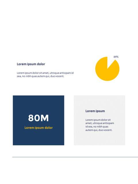 연례 보고서 클린 디자인 파워포인트 템플릿_29