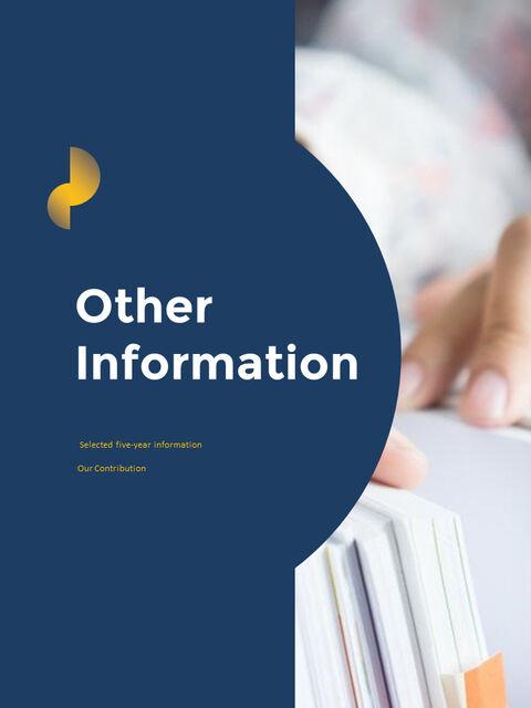 연례 보고서 클린 디자인 파워포인트 템플릿_31
