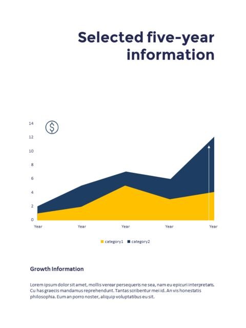 연례 보고서 클린 디자인 파워포인트 템플릿_32