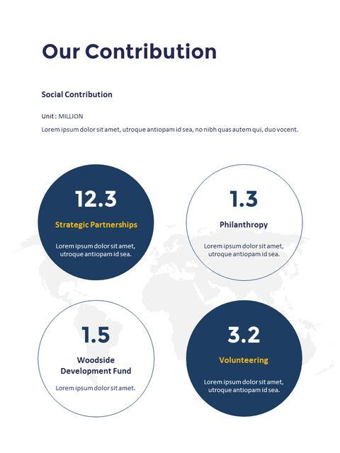 연례 보고서 클린 디자인 파워포인트 템플릿_33