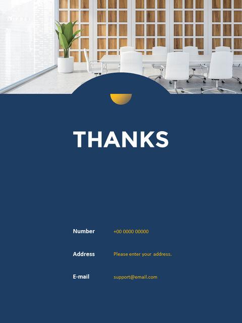연례 보고서 클린 디자인 파워포인트 템플릿_34