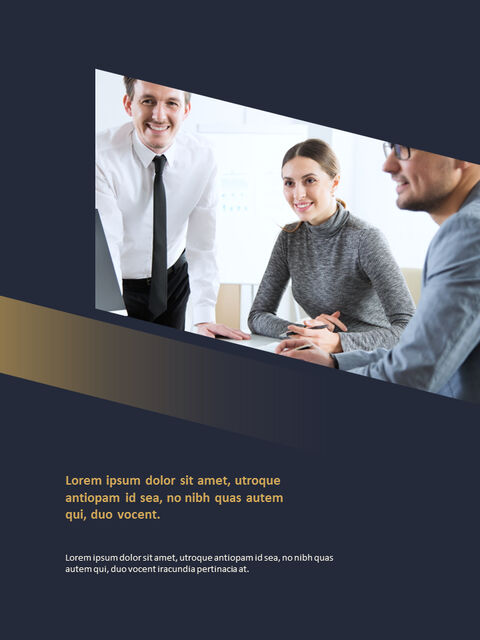Dark & Gold <span class=\'highlight\'>Concept</span> Annual Report Simple Slides Templates_03