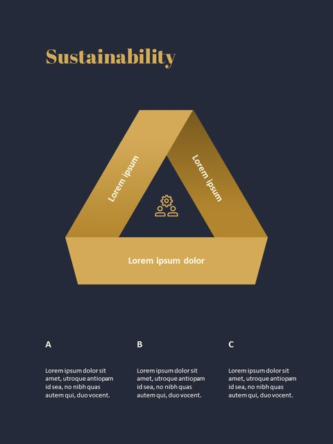 Dark & Gold <span class=\'highlight\'>Concept</span> Annual Report Simple Slides Templates_04