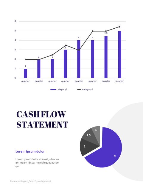 Purple Annual Report Google Slides Template Diagrams Design_03
