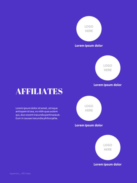 Purple Annual Report Google Slides Template Diagrams Design_05