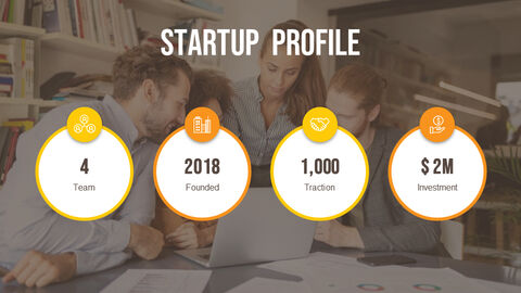 Startup Pitch Deck Circle Design Template Simple Templates_02