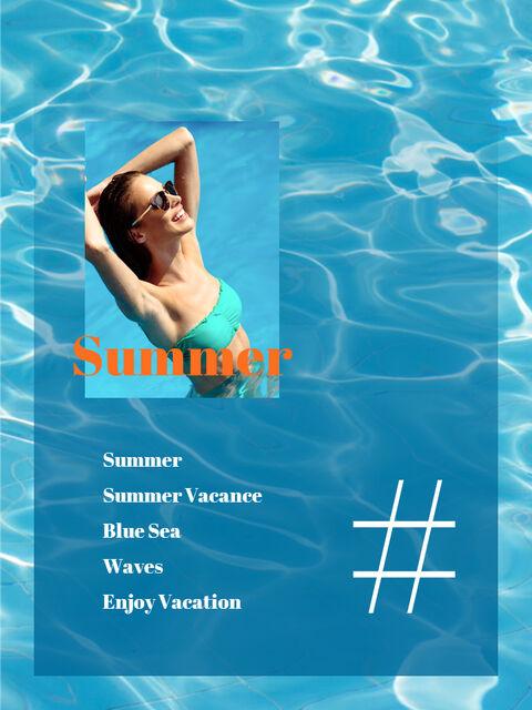 Summer Vacance Vertical Easy Google Slides_03