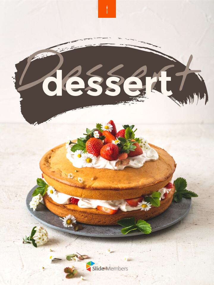 Sweet Dessert <span class=\'highlight\'>Concept</span> Vertical Google Slides Presentation Templates_01