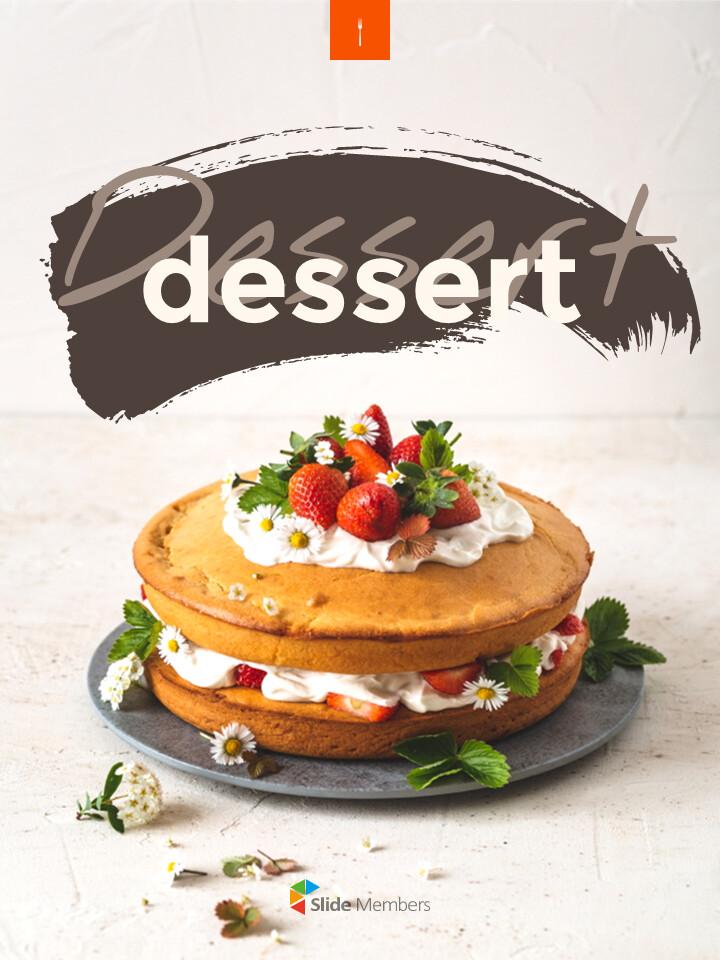 Sweet Dessert Concept Vertical Google Slides Presentation Templates_01