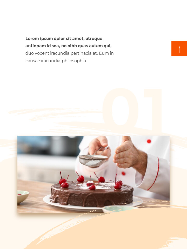Sweet Dessert Concept Vertical Google Slides Presentation Templates_02