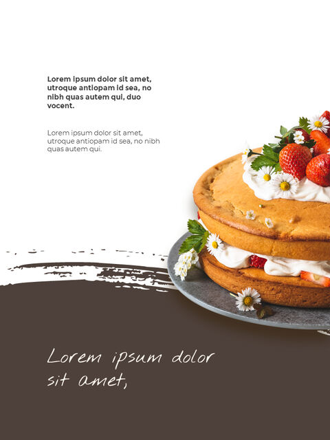 Sweet Dessert Concept Vertical Google Slides Presentation Templates_05
