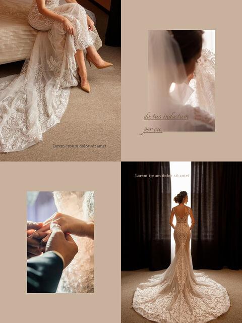 Wedding Theme Vertical Google Slides Presentation_02