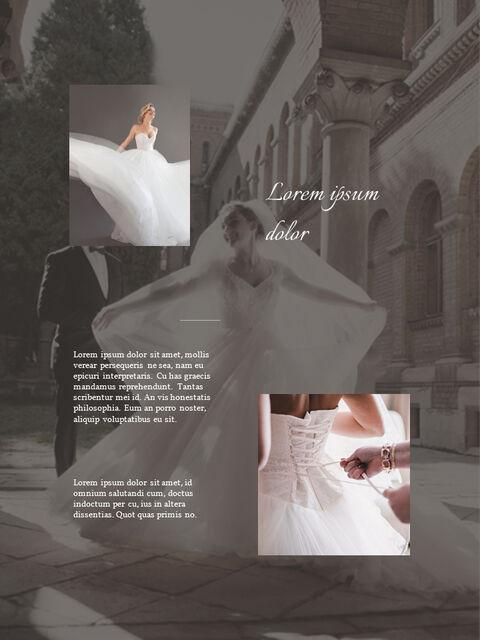 Wedding Theme Vertical PowerPoint Presentation Design_02