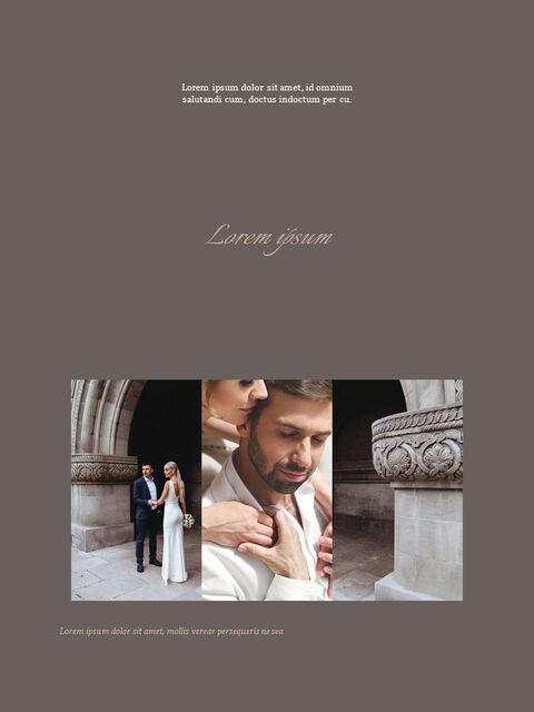 Wedding Theme Vertical PowerPoint Presentation Design_03