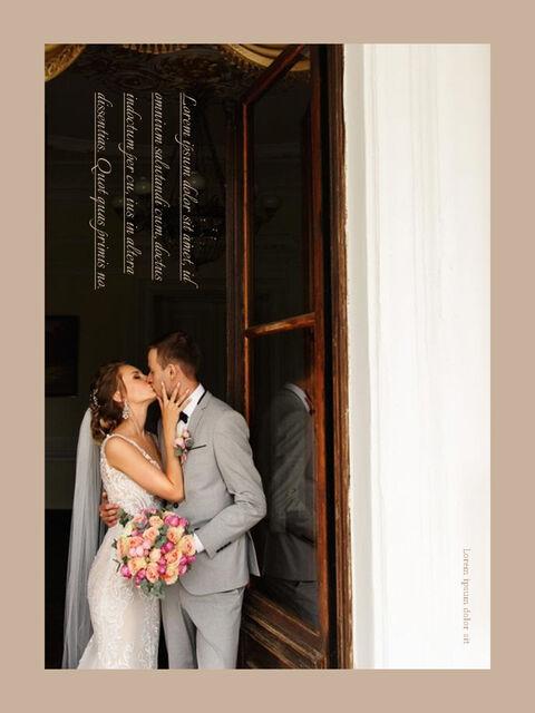 Wedding Theme Vertical PowerPoint Presentation Design_04