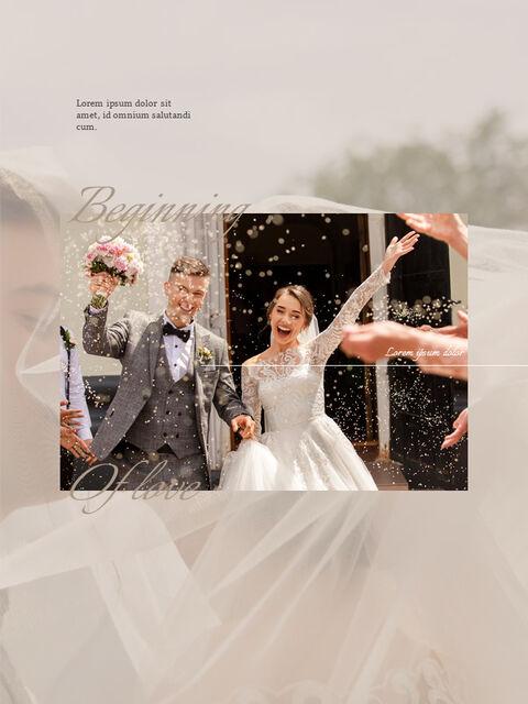Wedding Theme Vertical PowerPoint Presentation Design_05