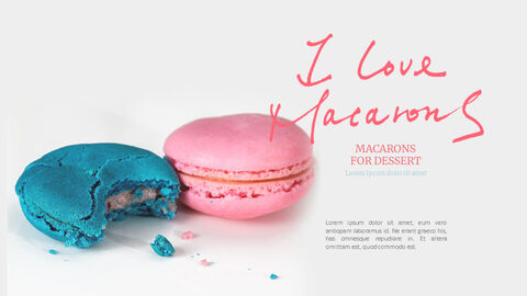 Macarons Simple PowerPoint Design_02