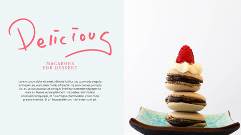 Macarons Simple PowerPoint Design_03