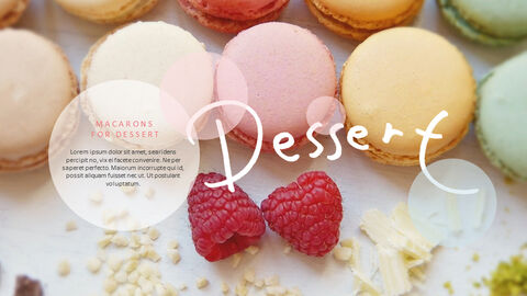 Macarons Simple PowerPoint Design_05