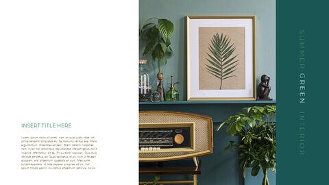 Summer Green Interior Simple Google Templates_05