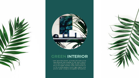 Summer Green Interior Slide PPT_02