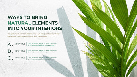 Summer Green Interior Slide PPT_04