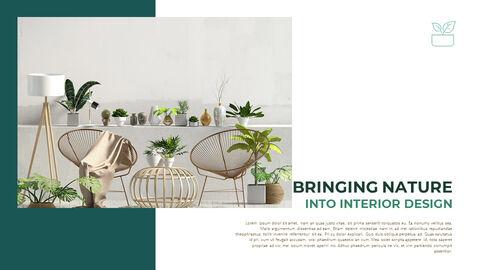 Summer Green Interior Slide PPT_07