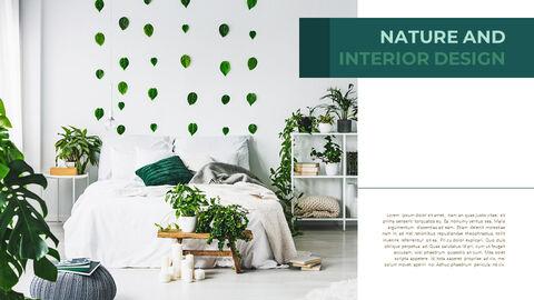 Summer Green Interior Slide PPT_05