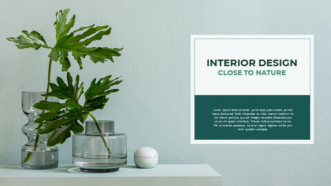 Summer Green Interior Slide PPT_10