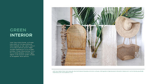 Summer Green Interior Slide PPT_11
