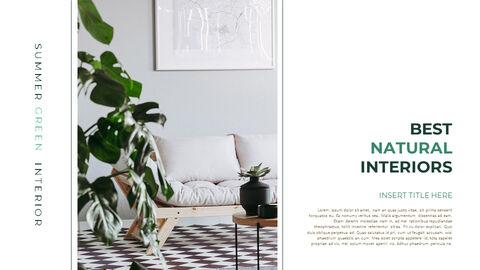 Summer Green Interior Slide PPT_13