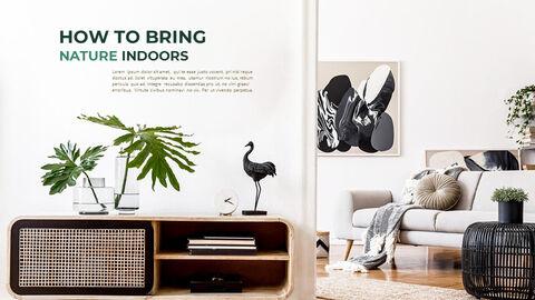 Summer Green Interior Slide PPT_14