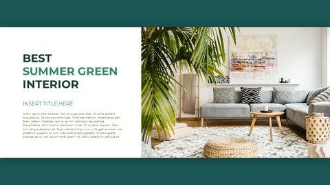 Summer Green Interior Slide PPT_17