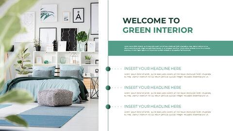 Summer Green Interior Slide PPT_18