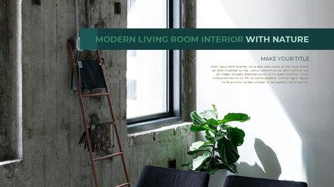 Summer Green Interior Slide PPT_20