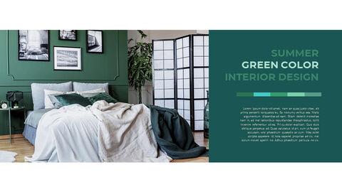 Summer Green Interior Slide PPT_29